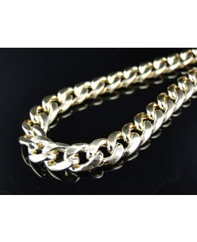 Miami Cuban Chain in 10k Yellow Gold (8mm, 24 inch)