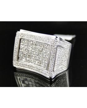 Square Princess Cut Diamond Ring (4.84 Ct)