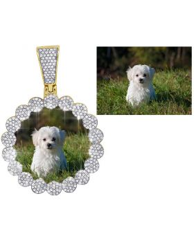 Personalized Photo Engraving For Memory Pendant Charm