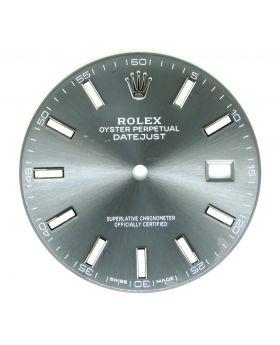 Original Rolex Grey Dial for Datejust II 40MM 126300 126334 Watch