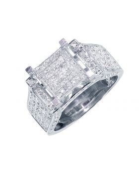 XL Pave Diamond Engagement/Fashion Ring (1.0 ct)