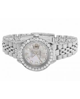 Ladies Rolex Datejust 6917 Jubilee Stainless Steel Diamond Watch (2.5 Ct)