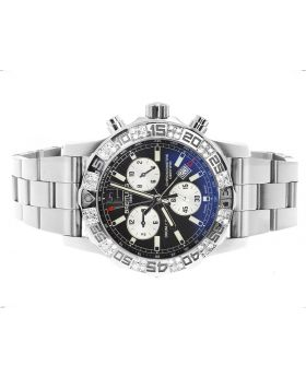 Custom Breitling A7338710-BB49-SS Men's Colt II Chronograph (1.50 Ct)