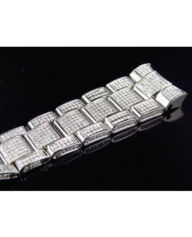 Custom Rolex Datejust 2 Diamond Band (9.0ct)