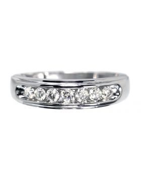 Mens 7mm Channel Set Band (0.50 ct)