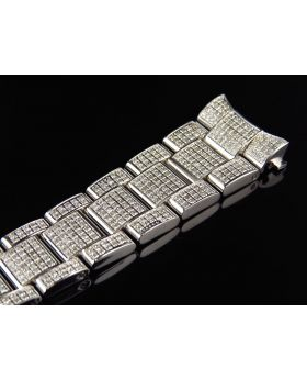 Custom Rolex Datejust Diamond Band (5.5ct)