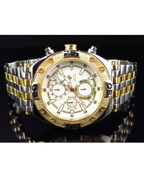 Aqua Master Two Tone Gold W#351 Diamond Watch (.25 Ct)