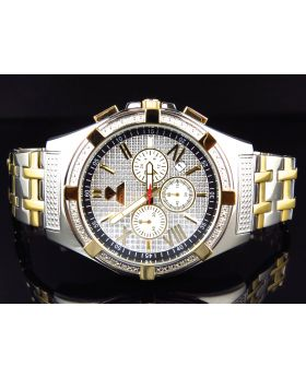 Aqua Master Two Tone W#348 Diamond Watch (.25 Ct)