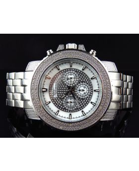 Jojino/Jojo Genuine Diamond Steel Watch, MJ-1208 (1/4ct)