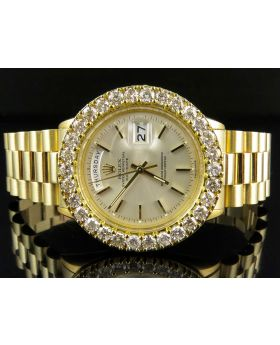 Rolex President 18k Yellow Gold Day-Date President (7.5 ct)