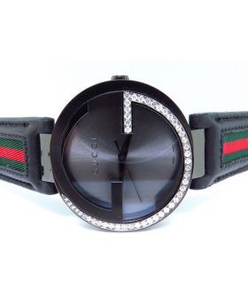 "Gucci Interlocking ""GG"" Diamond Watch YA133206 (1.25 ct)"
