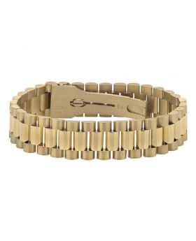 Mens 10K Yellow Gold Presidential Bracelet 8 inches 16MM