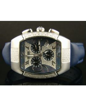 Techno Com Blue Diamond Watch 1.25 Ct
