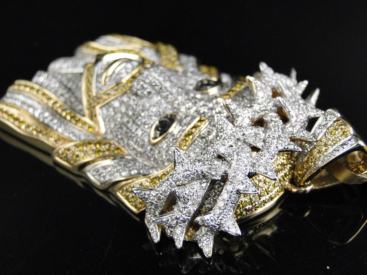 gia certified 18k white gold 1 54ct fancy yellow canary diamond