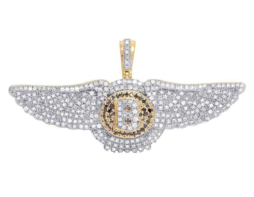Real diamond pendant the best diamond 2018 10k yellow gold plug socket fuse 2 inch genuine diamond pendant mozeypictures Gallery
