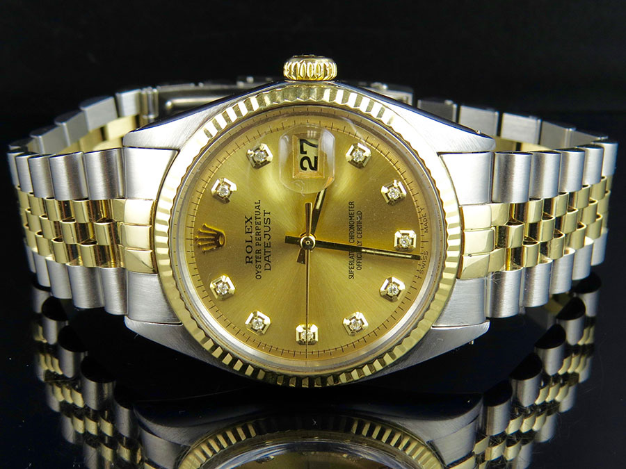 Rolex Datejust Gold 36mm