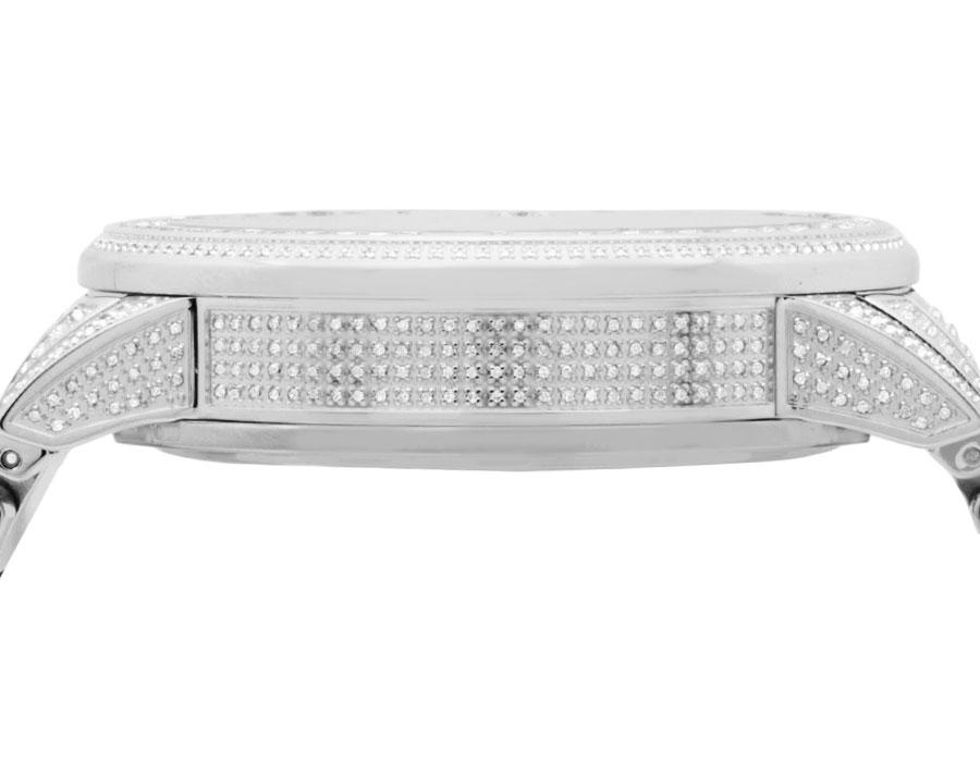 5b72a096b50 Full Mens 44 MM Gucci 101 G-Chrono Rose Gold Dial Diamond Watch YA101201  10.0 Ct