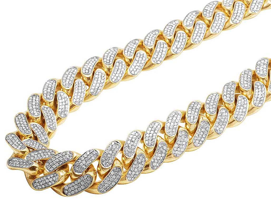 Solid 14k Yellow Gold Heavy Miami Cuban Link Kilo Diamond. Cubic Zirconia Earrings. Heart Bangle Bracelet Sterling Silver. Tila Beads Michaels. Jewellry Bracelet. Faberge Brooch. Child Stud Earrings. Chan Luu Bracelet. Mens Necklace Pendant