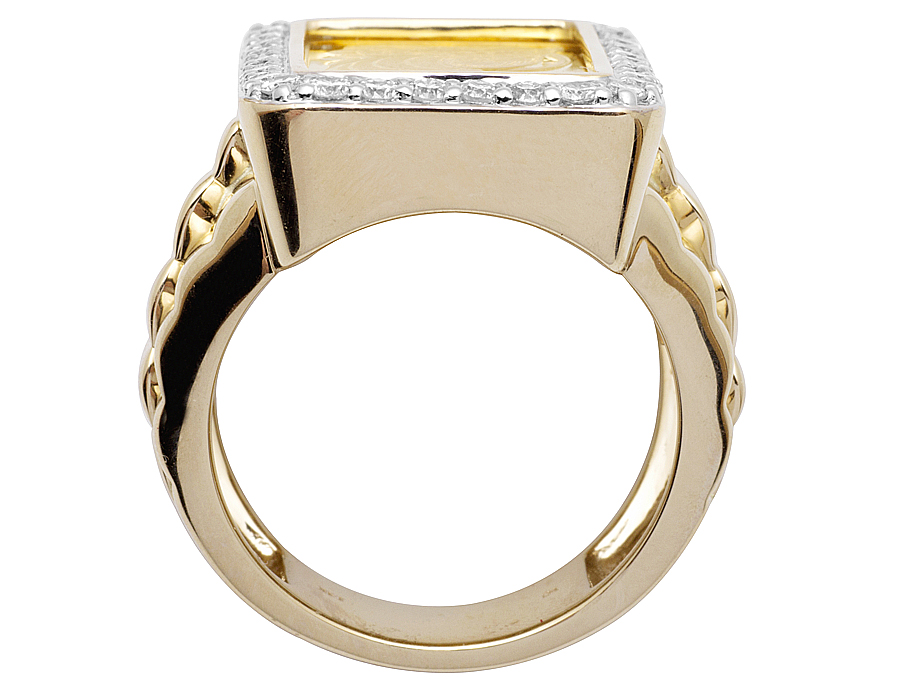 ring alloy rings white style product copper gold plated zircon simple engagement