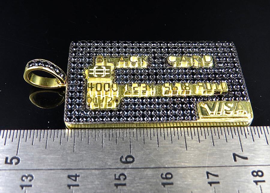 Lab Simulated Diamond Pendants