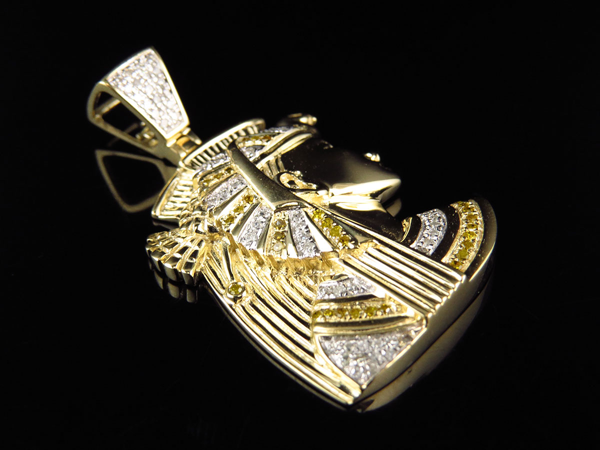 real gold pharaoh necklace
