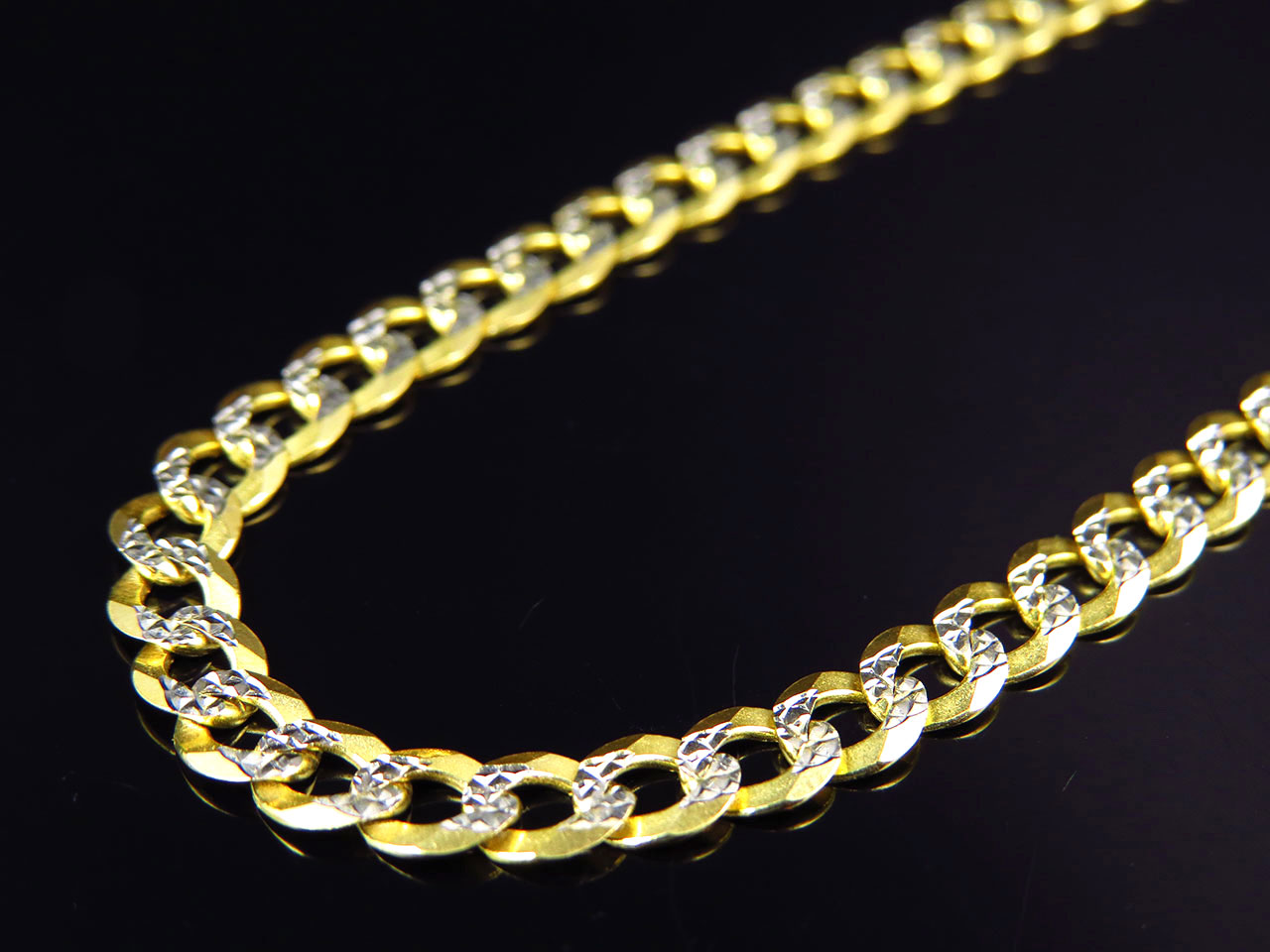 mens jewellery men s cut chains real diamond curb inch sterling silver chain