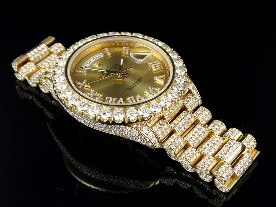 Rolex Day Date Full Diamond