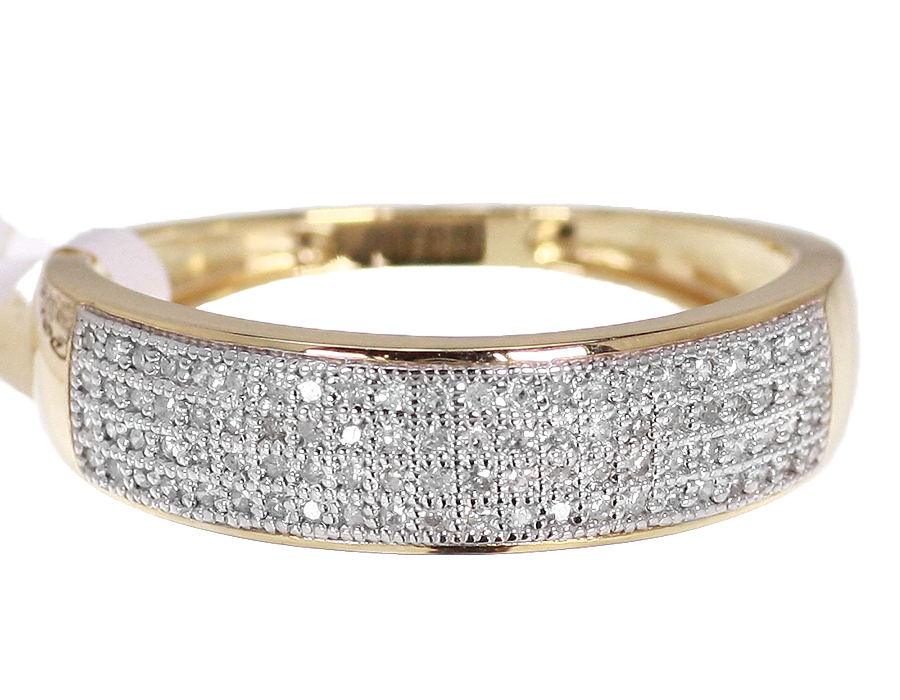 diamond gold products passport yellow d hsn cut ring bands band to