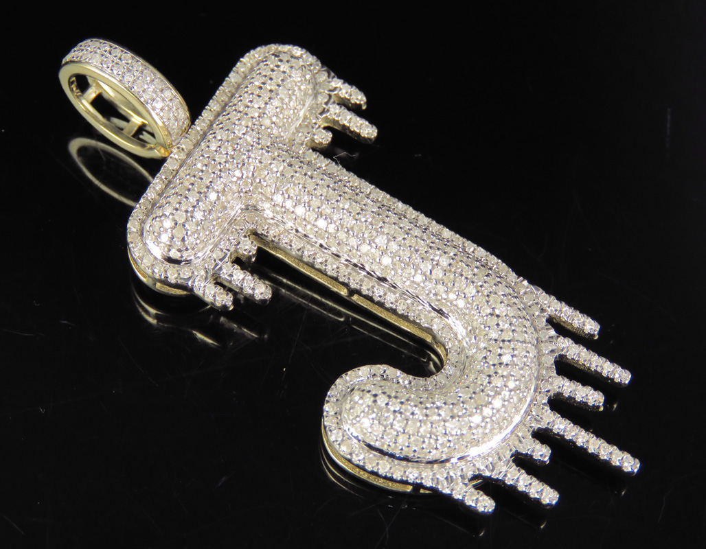 Armenian Letter Pendant Yellow 14K Gold Custom Luxury Jewelry