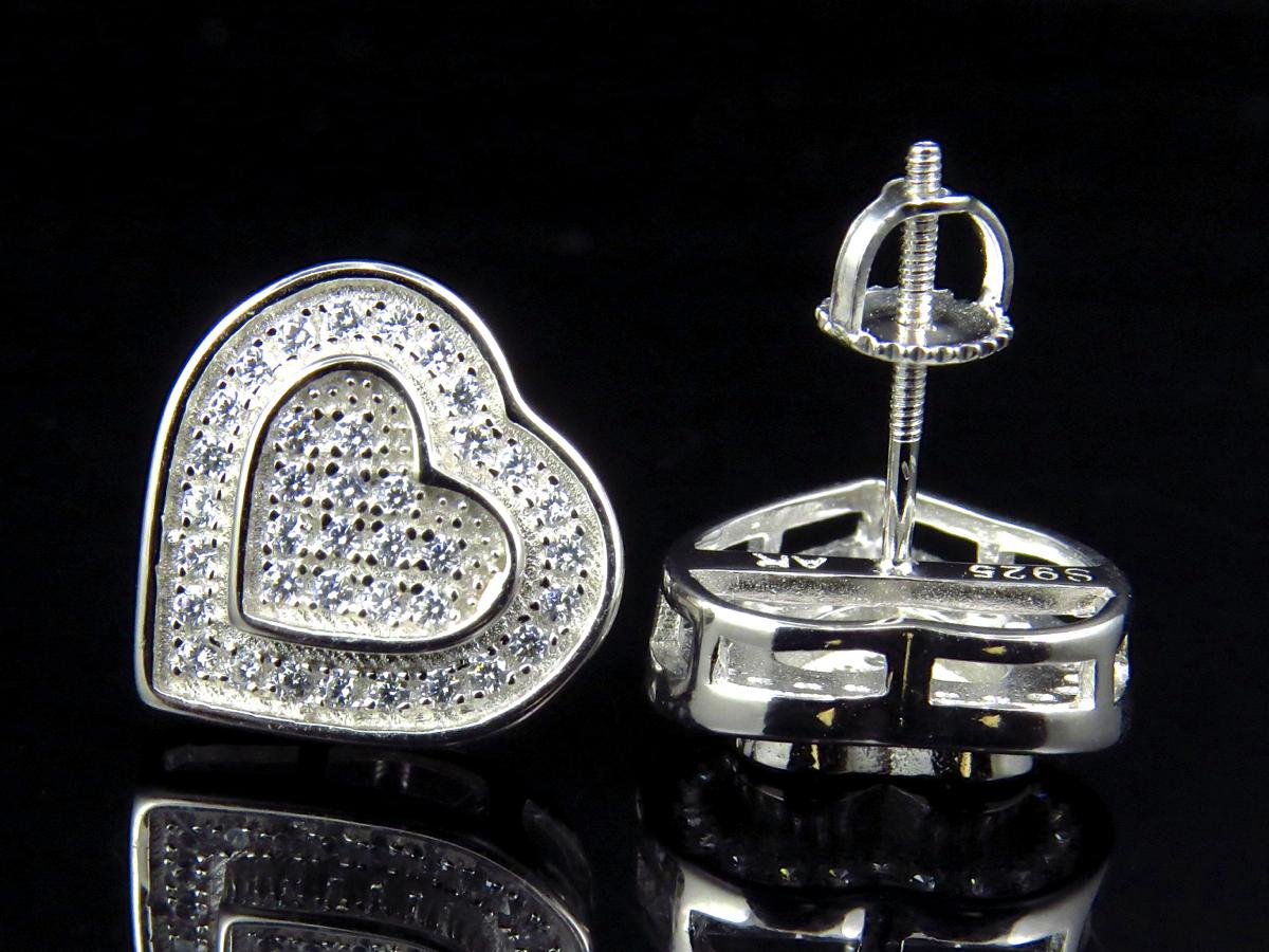Silver earrings rings - sterling silver hoop stud earrings ebay