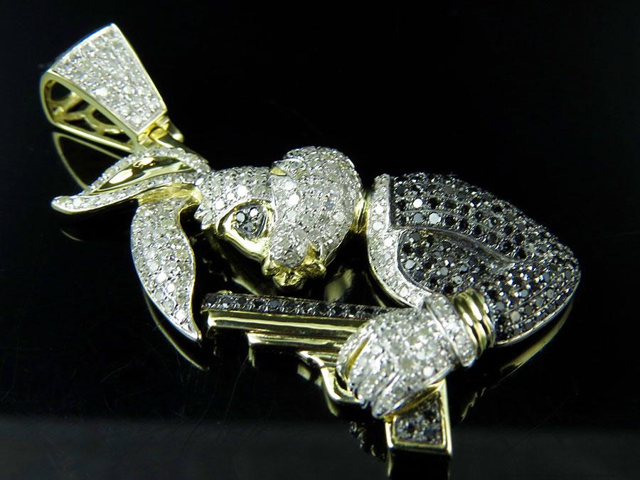 10k yellow gold bugs bunny holding gun genuine diamond fashion 10k yellow gold bugs bunny holding gun genuine diamond fashion pendant 225ct 686907164726 ebay aloadofball Choice Image