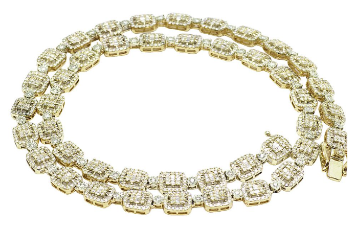 Tennis Chain Necklace: A must-have accessory!